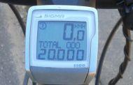Pedal dos 20.000 km