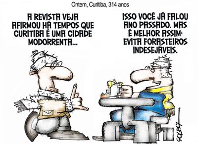 Curitiba 314 anos solda