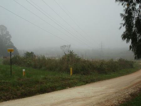 Neblina na Colônia Murici