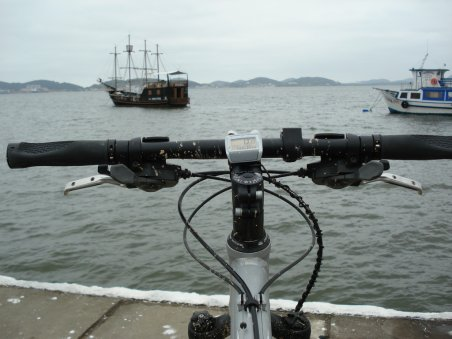 o mar e a bike