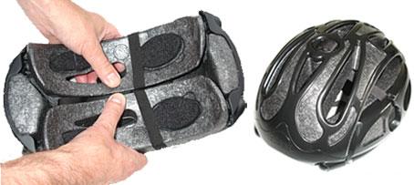Stash capacete dobrável