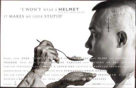 helmet stupid