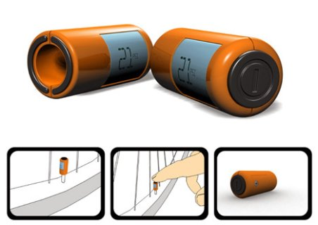 Válvula com indicação de pressão