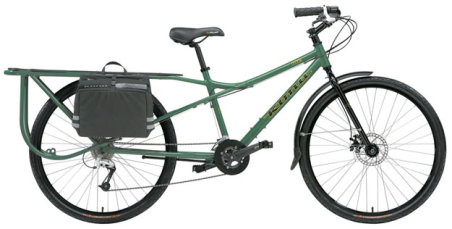 Bicicleta de carga kona UTE