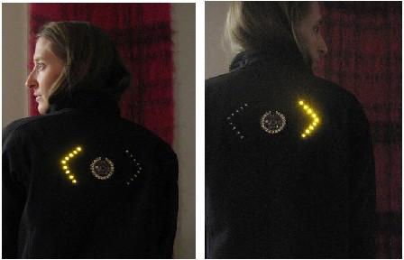 jaqueta com leds