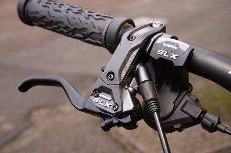 shimano SLX 2009 manetes freio hidráulico