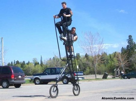 Skywalker bicicleta alta