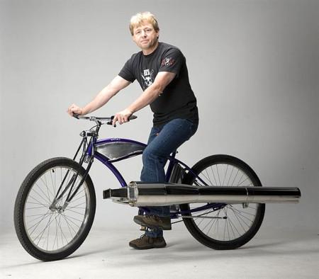 Bike a jato