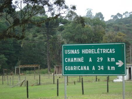 Guaricana chaminé castelhanos