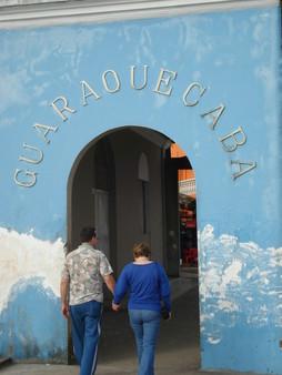 A porta do antigo mercado.