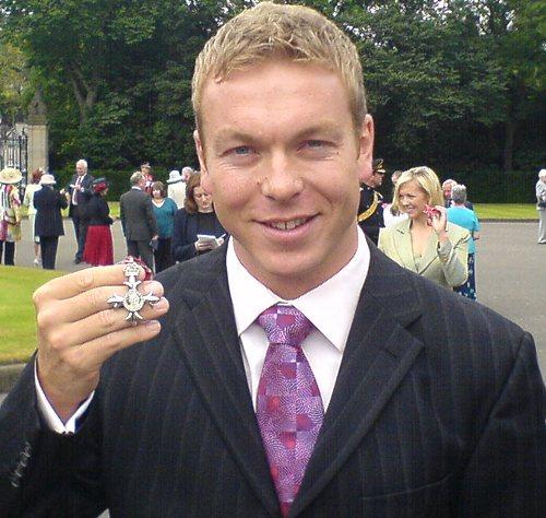 Ordem de cavaleiro Chris Hoy