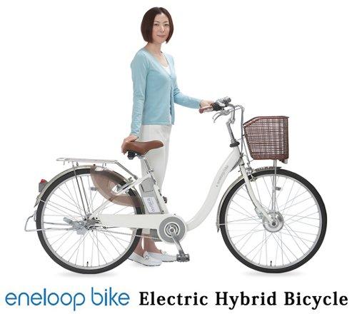 sanyo eneloop bicicleta eletrica