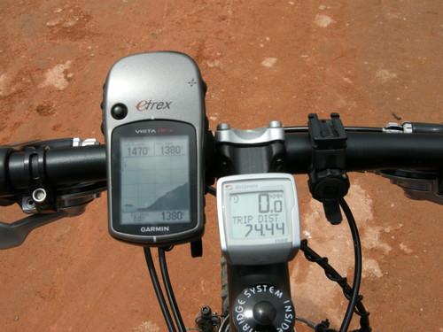 Altitude máxima: 1380 m.