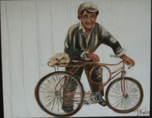 Ciclista, de Ione Kulig, São Luiz do Purunã.
